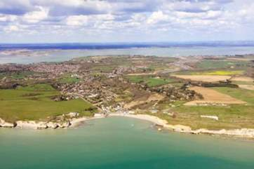 The Isle of Wight has some of the most diverse landscapes in the country.