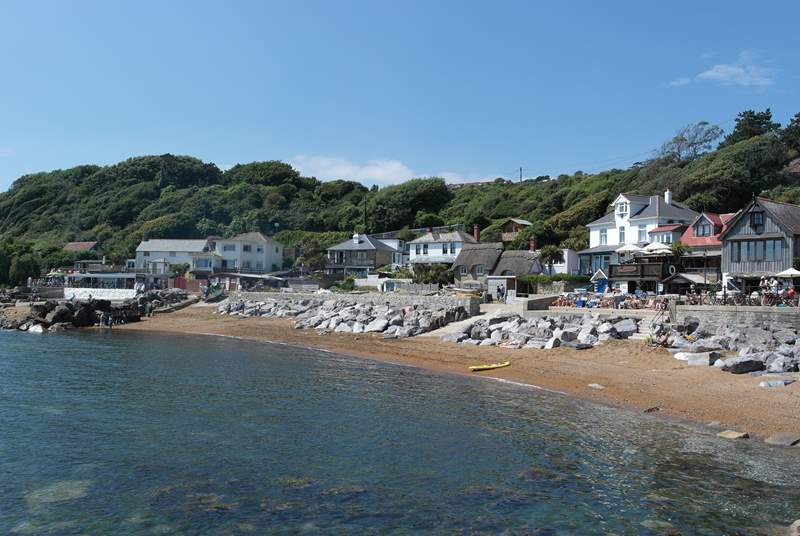 Steephill Cove is a lovely place to visit.