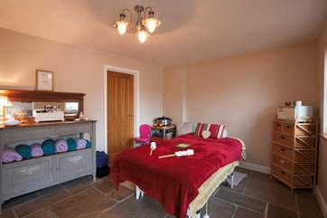 The Mattingley Farm has a therapy room, why not book in a massage?