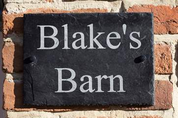 Welcome to Blake's Barn
