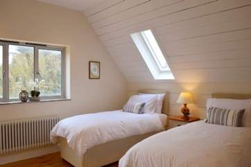 The twin bedroom are ideal for the children in your family