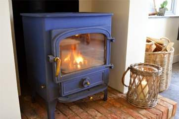On the colder evenings, be sure to stay warm in front of the fire