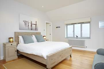 The master bedroom has its own private balcony, what a treat!