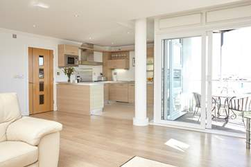 A gorgeous open plan living space