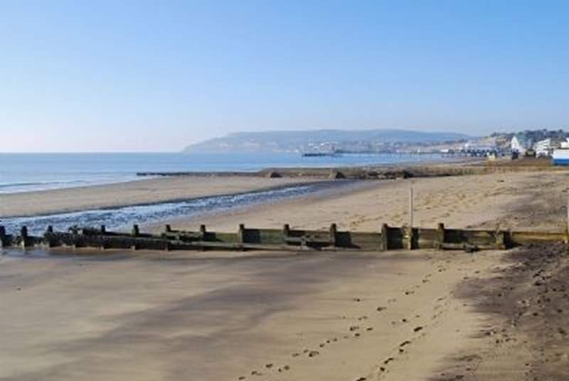The coast is beautiful in Lake all the way through to Sandown in one direction and Shanklin in the other