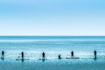 Why not try a spot of paddle boarding at Wight Water.