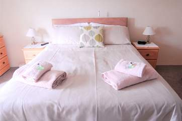 A comfy king-size bed, fluffy towels and toiletries will have you relaxed and enjoying your holiday!