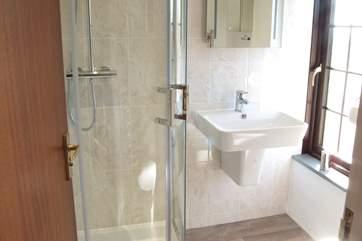 The first floor en-suite shower room.