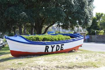 Welcome to Ryde, a lovely seaside town on the north east coast of the Island