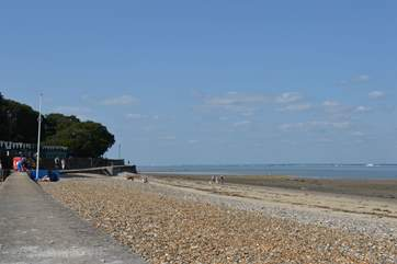 Take a stroll along the beautiful sea front with views over to Portsmouth