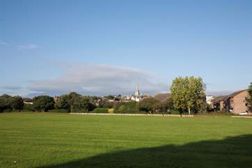 Opposite Henley House is a park where you can take your morning run, fly a kite or sun bathe