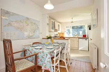 As you eat breakfast, study the Isle of Wight map and get ideas for your day exploring!