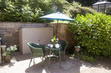Tea for two in the sunshine