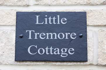 Little Tremore Cottage in Shorwell village.