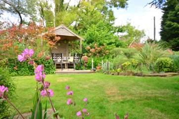 Enjoy the beautiful gardens.