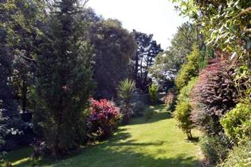 Set in half an acre of gardens.