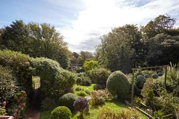 Set in 0.5 acres of gardens