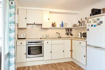 The well equipped and modern kitchen