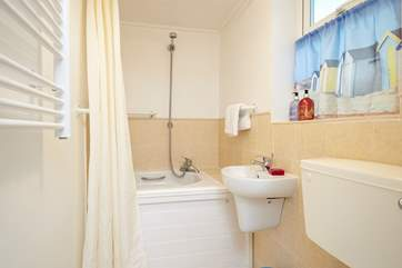 The en suite off the first double bedroom