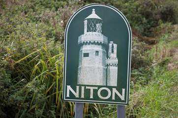 Set in the beautiful village of Niton