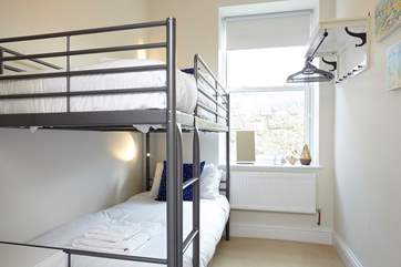 The bunk room is ideal for children, or adults after an adventure