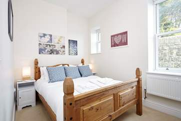 Enjoy a good nights sleep in the comfortable king size bed