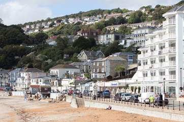 Enjoy the glorious beaches of Ventnor