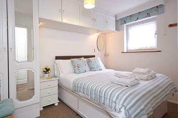 Get a good 8 hours sleep in the comfortable double bed