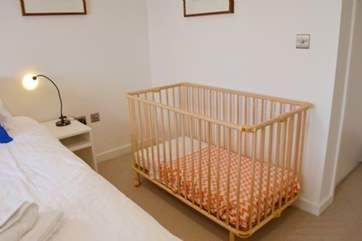 No need to bring a cot for the little one, they will get a great night's sleep here