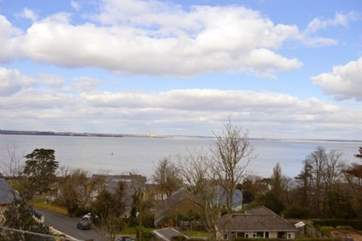 Views out to The Solent