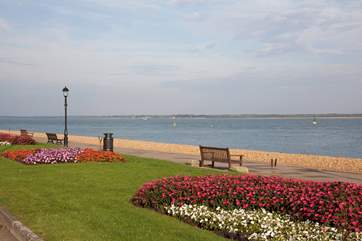 Take a walk along Cowes seafront