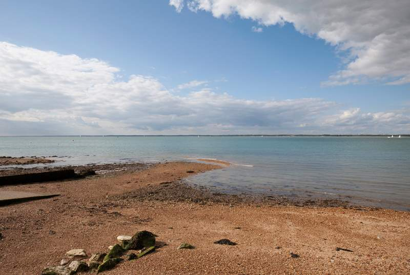 Take a stroll down the seafront, just a stones throw from the property