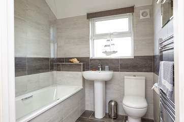 The family bathroom, with bath for relaxing