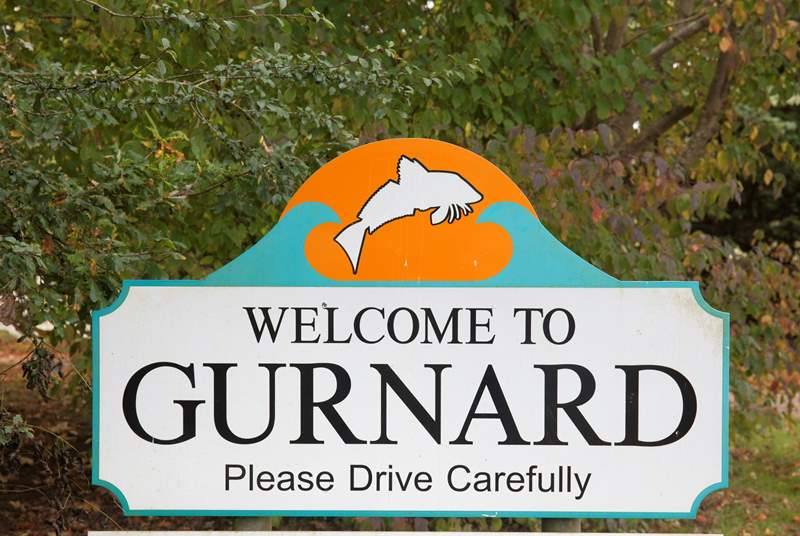 Welcome to Gurnard, Isle of Wight