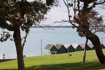 Gurnard's beautiful seafront