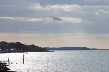 Enjoy the beautiful views of Gurnard