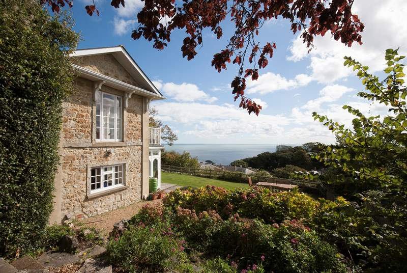 Welcome to Woodlands a beautiful property with sea views