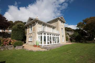 Woodlands is a stunning detached property in Ventnor