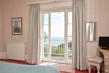 Lift your head after a good nights sleep and see that amazing view out to sea