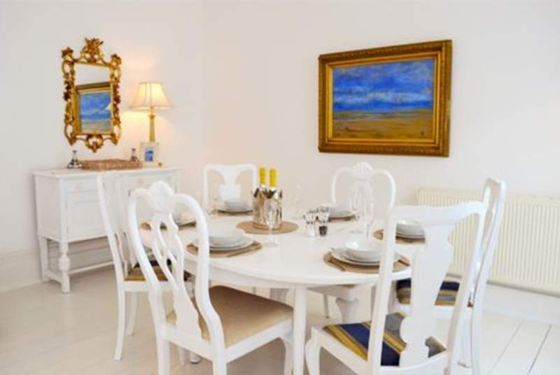 The dining room table for your family meals together