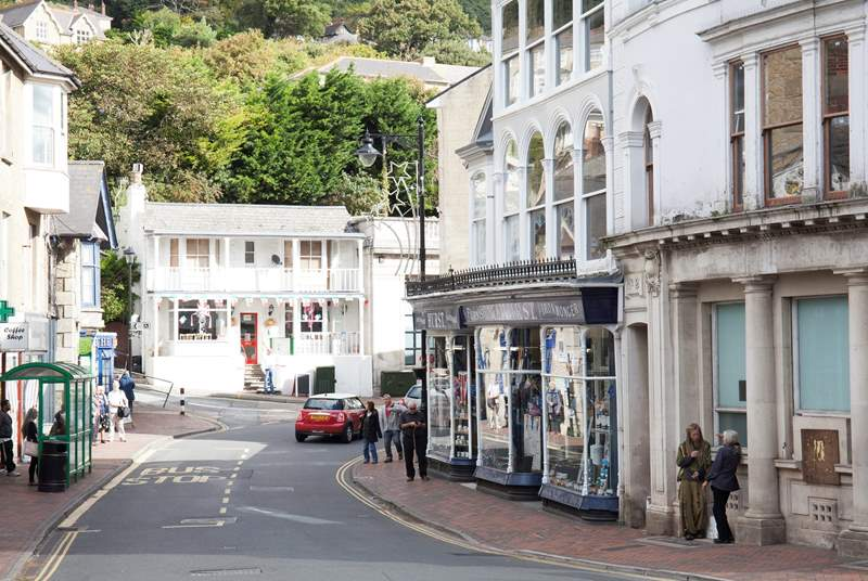 The cosmopolitan town of Ventnor