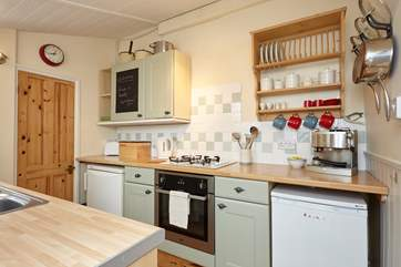 If you don't fancy cooking in the delightful kitchen, head into the town of Cowes where you will find a fantastic varierty of restaurants.