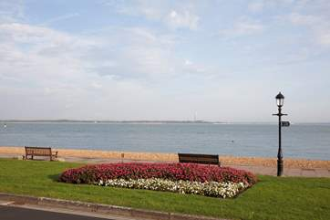 Take a wander down Cowes seafront.