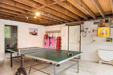 The games-room will delight both young and old.