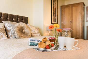 Why not treat yourself to breakfast in bed?