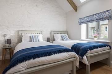 Bedroom 2 has twin 3ft beds.