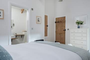 Bedroom 1 has an en suite shower-room with big walk-in shower.