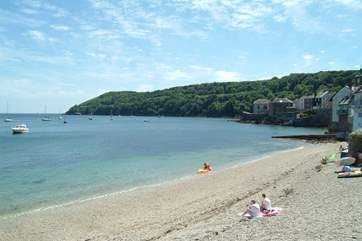 Cawsand and Kingsand are twin villages, with winding streets and shingle beaches as the tide goes out.