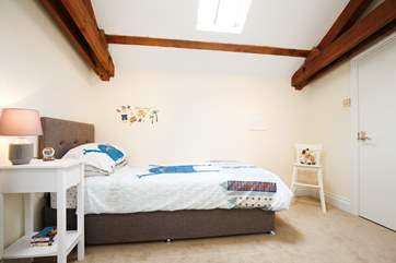 The single bedroom is perfect for children, or to escape your other half's snoring!