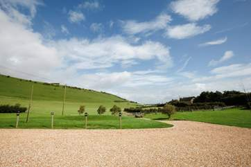 Pack a picnic and take a stroll up Chillerton Downs where you wil lhave a fantastic view across the Island